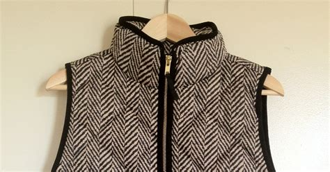 Excursion Quilted Vest In Herringbone by Quite Sublime Review J Crew Excursion Quilted Vest In