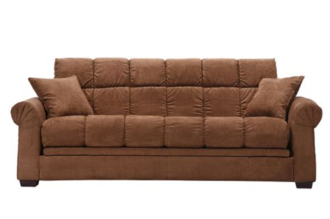 Kent Melody Chocolate Brown Futon Sofa Bed Overstock Overstock Sofa Bed