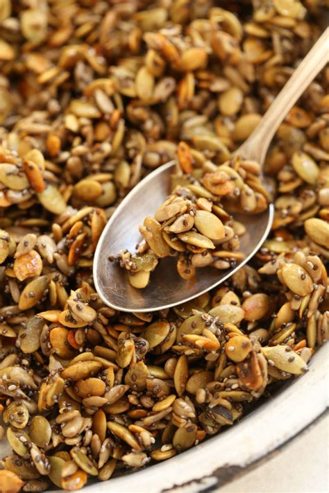 Roasted Mix Seed honey roasted pumpkin seeds the harvest kitchen