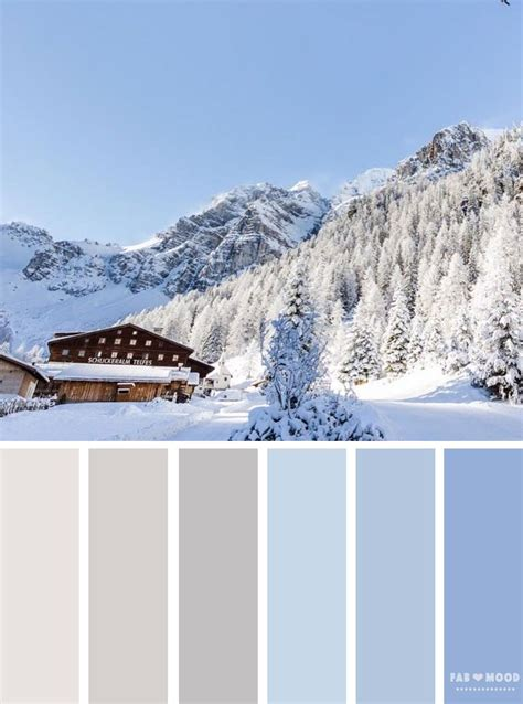winter color schemes best 25 winter color palettes ideas on winter