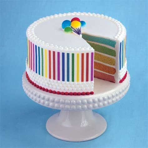 lucks decorating rainbow cake from lucks food decorating company cake