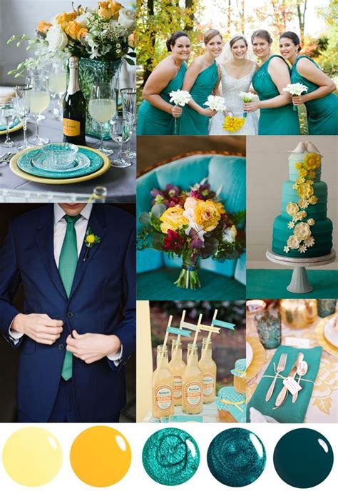 wedding color combinations 25 best ideas about wedding colors teal on