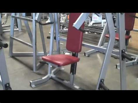 hammer strength bench press for sale used hammer strength iso lateral incline bench press for