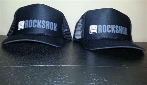rock shox mesh trucker hat for sale