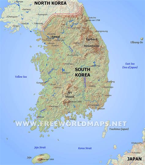 5 Themes Of Geography South Korea | 5 themes of geography south korea korean physical features