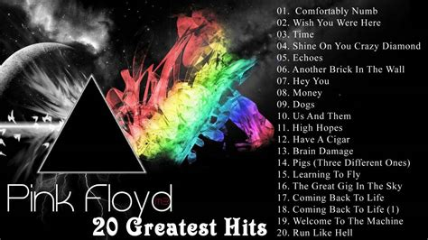 pink floyd best the best of pink floyd pink floyd 20 greatest hits