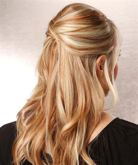 hairstyles left down half updo hairstyles for long straight hair hairstyles