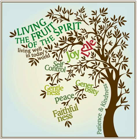 fruit 0f the spirit how can i live by the fruit of the spirit