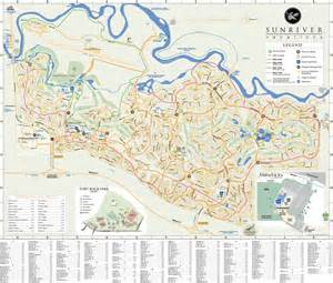 Map Of Sunriver Oregon by Sunriver Oregon Maplets