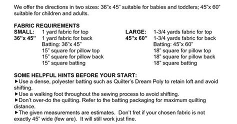 pattern for making a quillow easy quillow free printable scope of work template