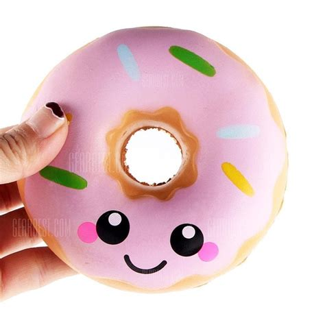 Squishy Murah Pink Biru Jumbo Rising jumbo squishy colorful donuts soft squishy rising squeeze gift 3 24 free