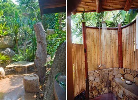 20 Irresistible Outdoor Shower Designs For Your Garden | 20 irresistible outdoor shower designs for your garden