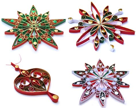 quilled christmas ornament patterns quilled ornaments created by brewer of flickr