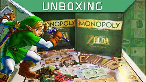 legend of zelda monopoly map unboxing the legend of zelda monopoly fr youtube