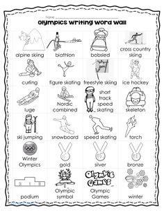 more preschool ideas on winter olympics