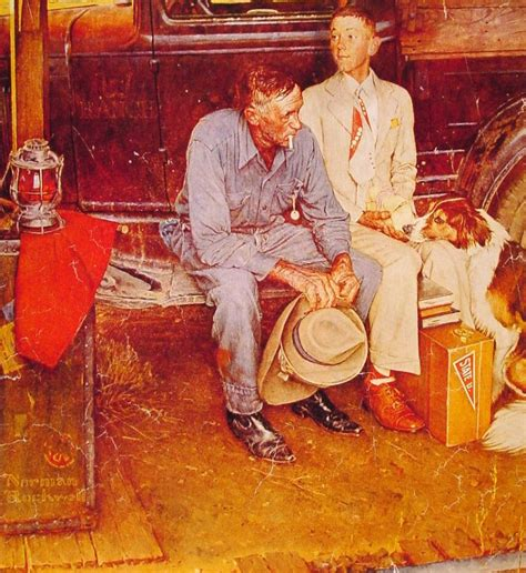 7 Most Paintings Of All Time by The Top 10 Best Norman Rockwell Paintings Of All Time On