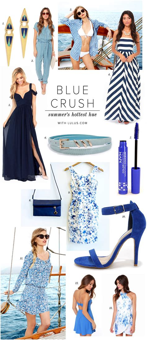 Trend Alert Orange Crush by Trend Alert Blue Crush Lulus Fashion