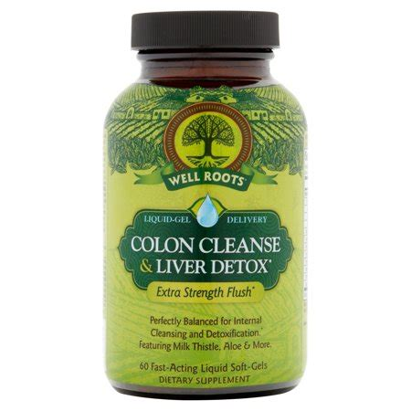 Detox For The Liver And Bowel Cleanse by Upc 710363582388 Well Roots Colon Cleanse Liver Detox