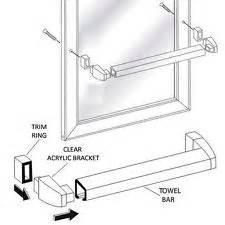 shower door bar replacement shower door frame ebay