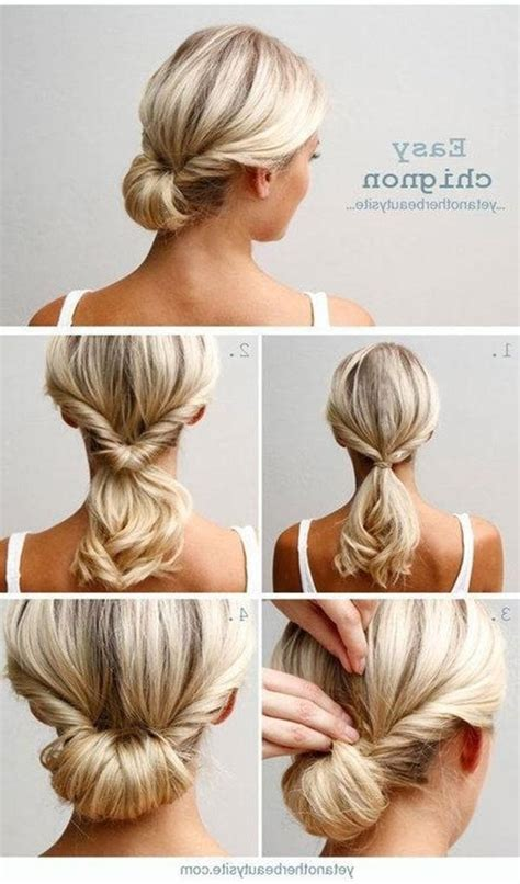 quick easy casual hairstyles ideas quick hairstyles for work hairstyles