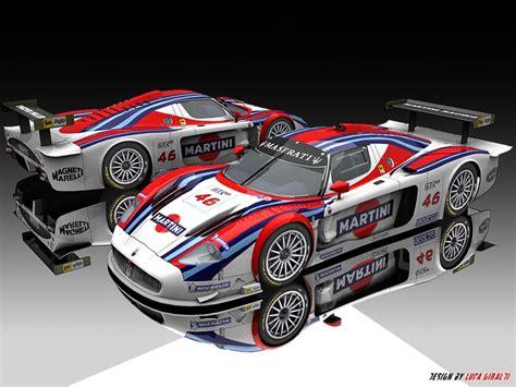 maserati mc12 race car maserati mc12 martini racing martini racing