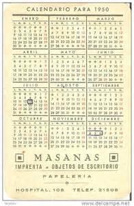 Calendario De 1950 Calendario A 209 O 1950 De Una Barca Y Paisaje Costero