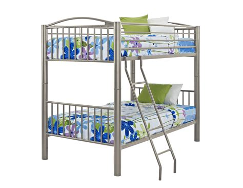 metal bunk beds twin over twin powell heavy metal twin over twin bunk bed by oj commerce 941 138 585 74
