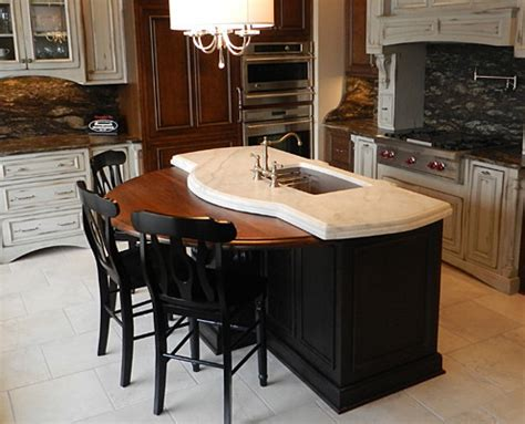 kitchen island with wood top wooden kitchen island top traditional kitchen other