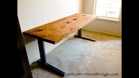 reclaimed wood desk reclaimed wood desk diy reclaimed