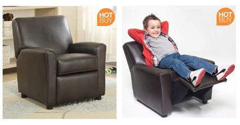 child recliner costco leather children s recliner armchair now 163 44 89 delivered