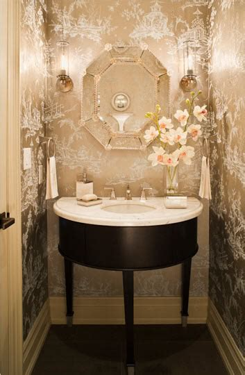 wallpaper powder room 25 gorgeous powder rooms that can amaze anybody digsdigs