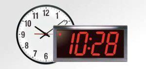 analog and digital wall clock network timing gps ntp servers time servers