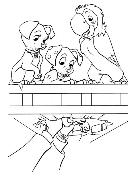 102 Dalmatians Coloring Pages 102 dalmatians coloring pages coloringpages1001