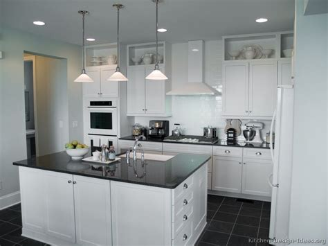 White Kitchen by Pictures Of Kitchens Traditional White Kitchen Cabinets