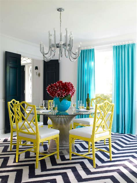 colorful dining room chairs dining room interior design with modern dining tables