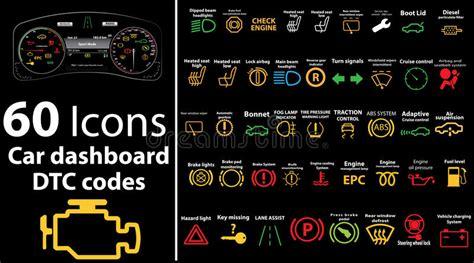 Kontrollleuchten Auto öl by Ikonen Mit 60 S 228 Tzen Armaturenbrett Dtc Codes