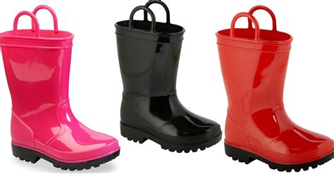 Kmart: Buy One Get One For $1 Kid?s Shoes = Rain Boots As Low As $7 Each ? Hip2Save