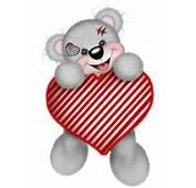 Ours Cupidon Avec Son Coeur  Centerblog