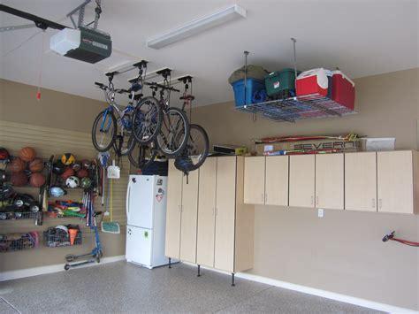 Garage Ceiling Bike Storage by Maximizing Garage Spaces Using Ceiling Lift Bike Storage