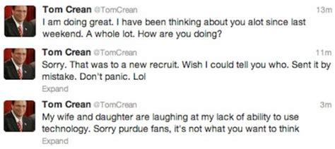 tom crean twitter should we warn deadspin about tom crean thehoosier com