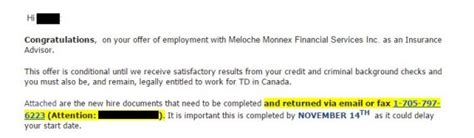 Letter Of Credit From Td Bank Use Of Credit Checks To Screen Applicants Growing In Canada As U S Cls