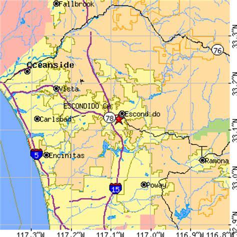 zip code map escondido ca escondido california ca population data races