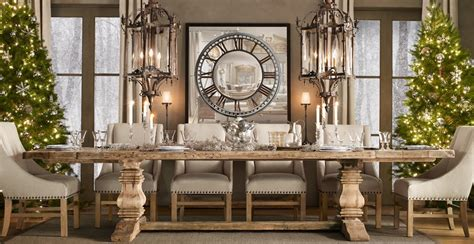 Restoration Hardware Dining Room Restoration Hardware Edmonton Luxury Interior Design Journal