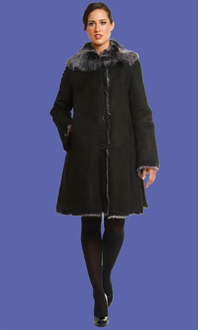 ladies swing coat shearling swing coat fashion women s coat 2017