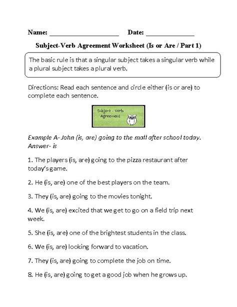 Subject Verb Agreement Worksheets With Answers by 181 Best Images About Grammar On Irregular