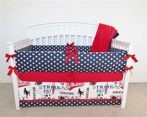 Patriotic Crib Bedding by Patriotic Bedding Floral Bohemian Bedding Set