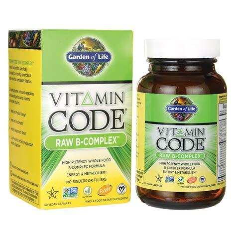 Garden Of Vitamin Code For by Garden Of Vitamin Code B Complex 60 Vegan Caps