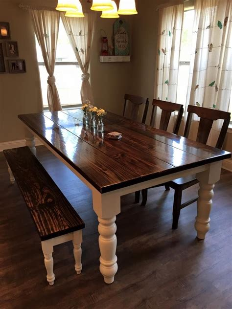 dining room bench table best 20 farmhouse table chairs ideas on pinterest
