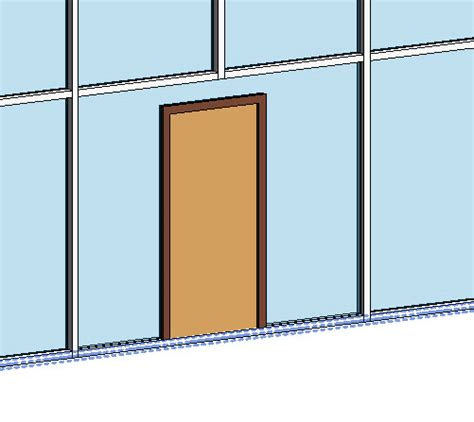 revit curtain wall door doors in curtain walls archives aectraineraectrainer