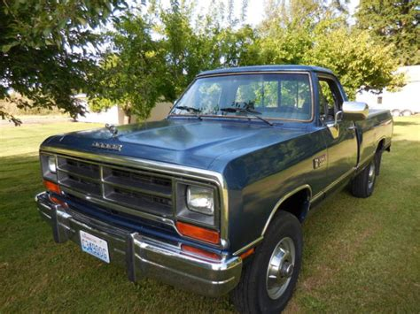 1990 dodge ram cummins for sale 1990 dodge le w250 cummins diesel 4x4 1989 1991 1992 1993